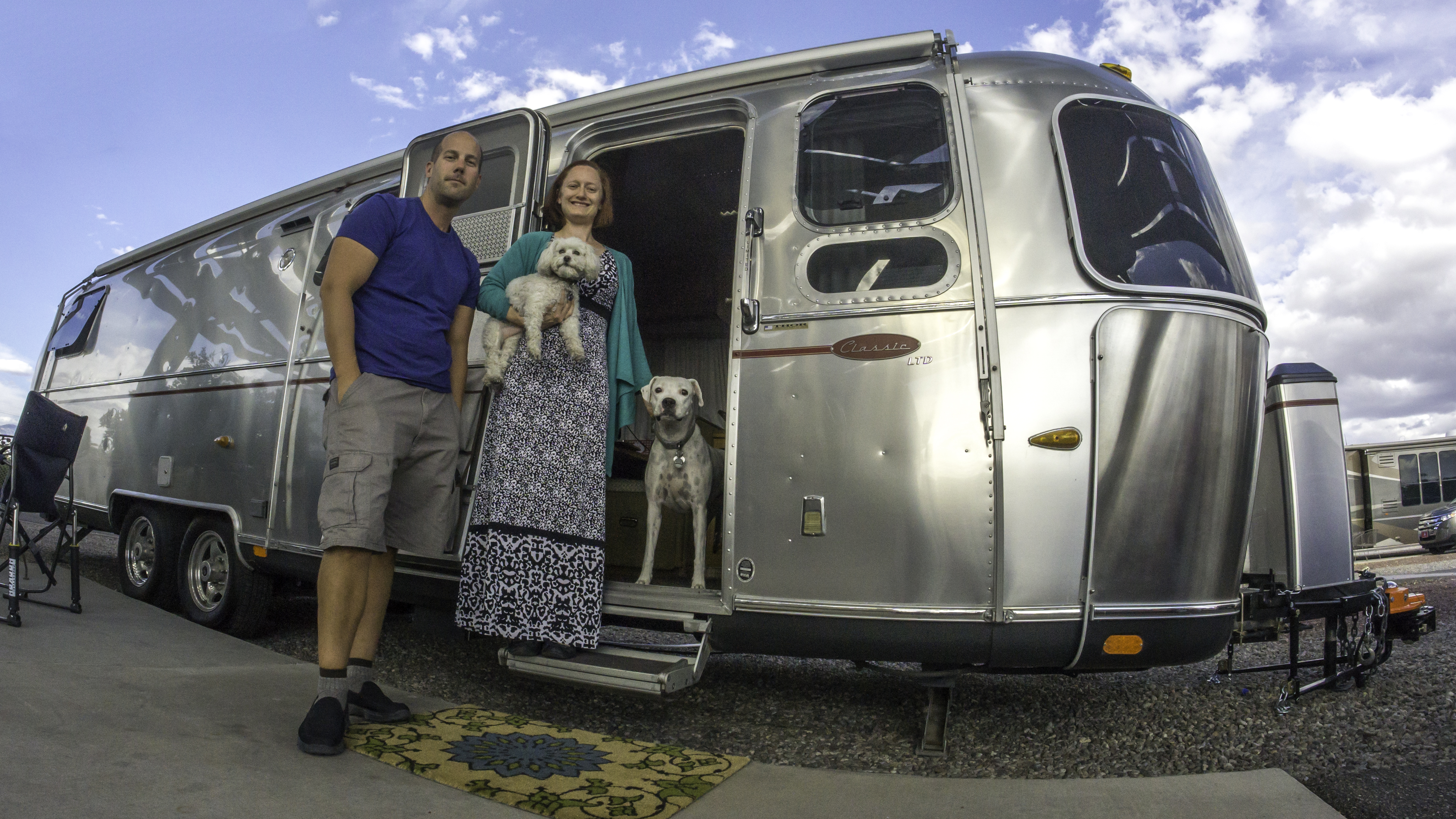 One Month of Tiny Living in our Airstream